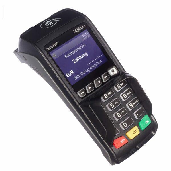 EC Karten-Terminal ingencio Desk 3500