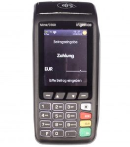 EC Kartenlesegerät ingenico Move 3500