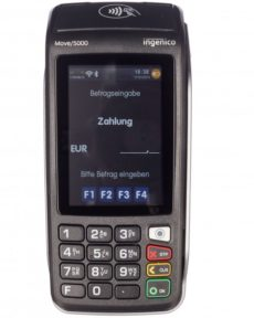 EC Kartenleser Ingenico move 5000