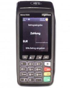 Kreditkartenterminal Ingenico move 3500