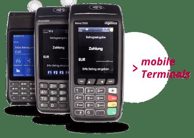 Kreditkartenlesegerät mobil kaufen oder mieten