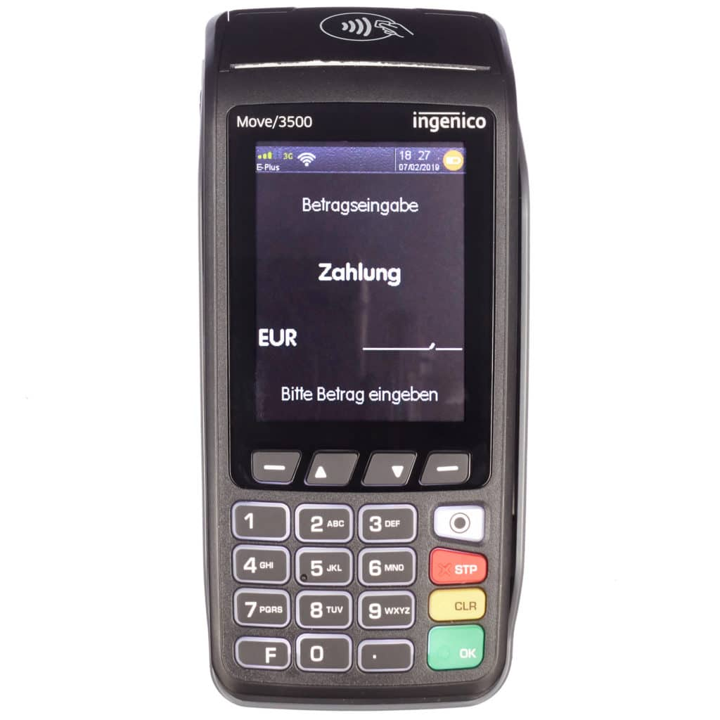 Mobiles EC Cash Gerät - Ingenico Move 3500