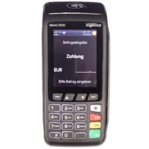 Mobiles EC Kartengerät - Ingenico Move 3500 mieten oder kaufen